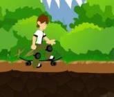 Ben na skateboardu
