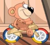 Medvídek na kole