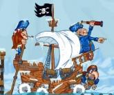 Pirátské pokladnice zlata