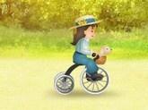 Výlet na kole s pejskem